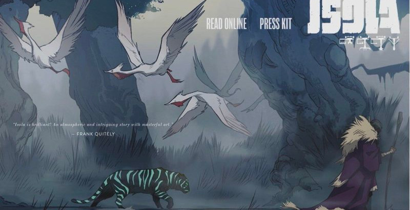 "Resenha: ""Isola vol. 2"" de Brenden Fletcher, Karl Kerschl e Msassyk"