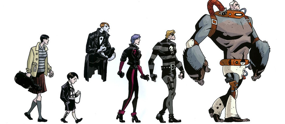 "Resenha: ""Umbrella Academy - Suíte do Apocalipse"" de Gerard Way e Gabriel Bá"