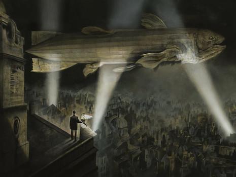 """Resenha: """"Black Dog - Os Sonhos de Paul Nash"""" de Dave McKean"""