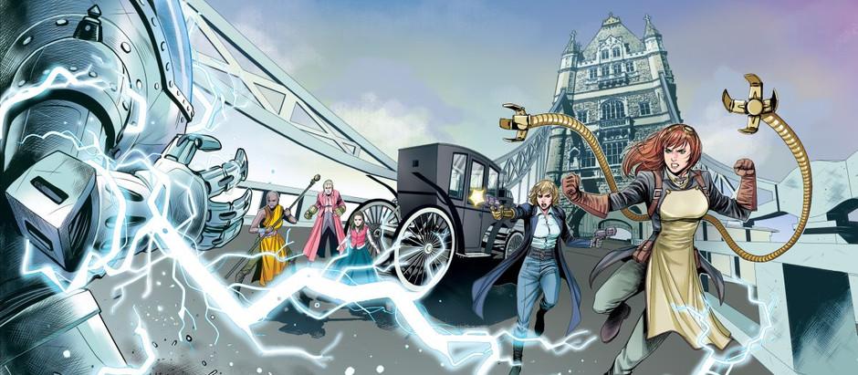 """Resenha: """"Steampunk Ladies - Choque do Futuro"""" de Zé Wellington, Sara Prado e outros"""