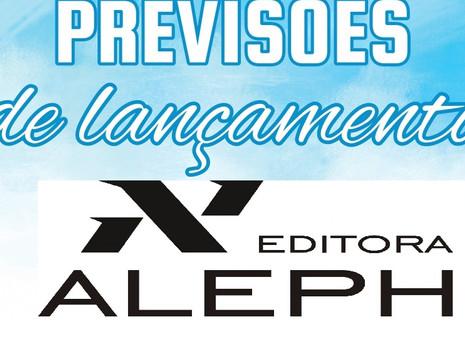 Previsões de Lançamentos para 2021: a editora Aleph