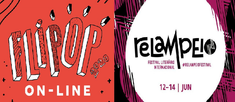 A literatura fantástica em ação em junho e julho: a Flipop 2020 e o Relampeio