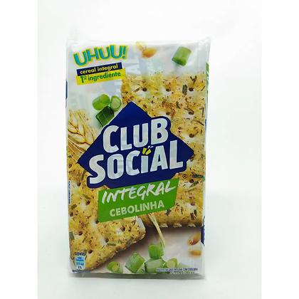 Biscoito Integral Cebolinha - Club Social - 144g