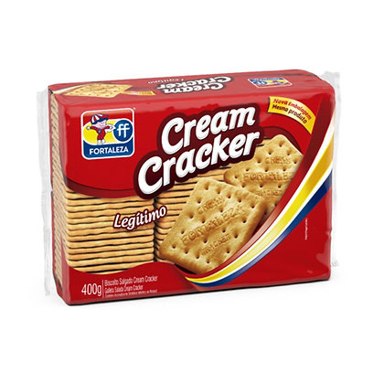 Biscoito Cream Cracker - Fortaleza - 400g