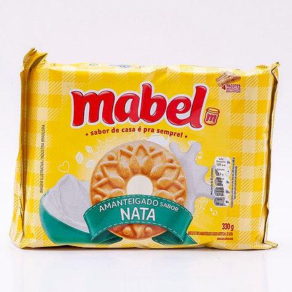 Biscoito Amanteigado - Nata - Mabel - 330g