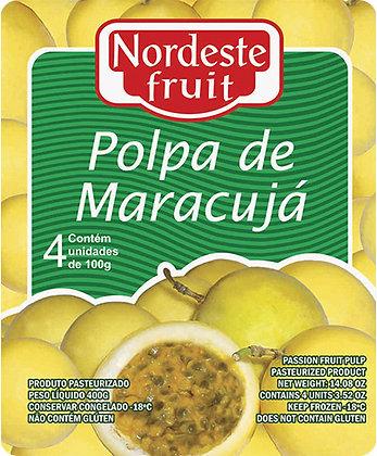 Polpa de Maracujá - Nordeste Fruit - 400g