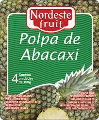 Polpa de Abacaxi - Nordeste Fruit - 400g