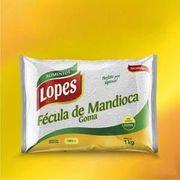 Fécula de Mandioca - Lopes - 1kg