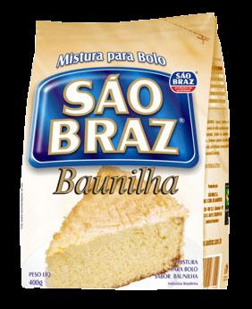 Mistura para Bolo - Baunilha - São Braz - 400g