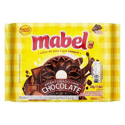 Biscoito Amanteigado - Chocolate - Mabel - 330g