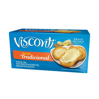 Torrada Tradicional - Visconti - 120g