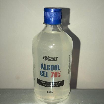 Álcool em gel 70 - Dixcret - 500ml