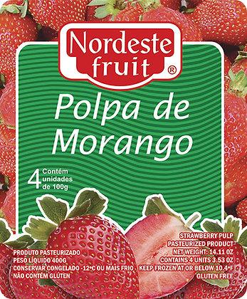 Polpa de Morango - Nordeste Fruit - 400g