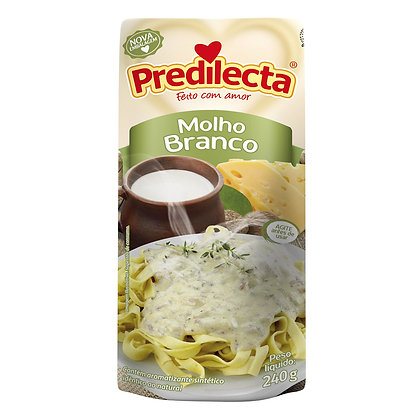 Molho Branco - Predilecta - 240g
