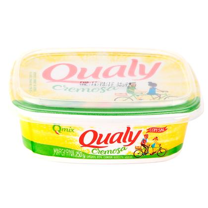 Margarina com sal - Qualy - 250g