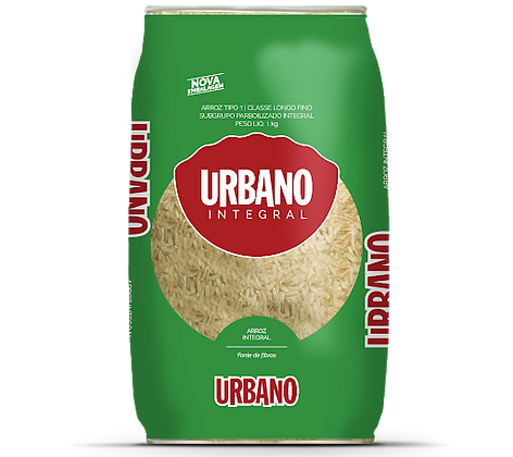 Arroz Integral - Urbano - 1kg