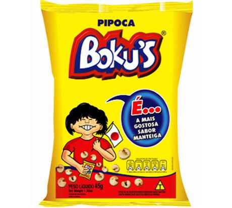 Pipoca - Bokus - 45g