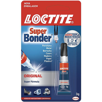 Adesivo instantâneo - Super Bonder - 3g