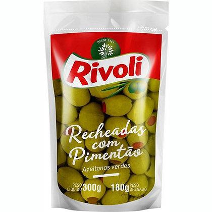 Azeitonas Recheadas com Pimentão - Rivoli - 330g