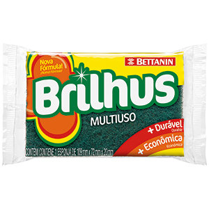 Esponja multiuso - Brilhus