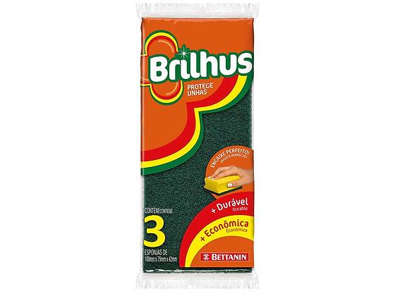 Esponjas Protege Unhas - Brilhus - Contém 3