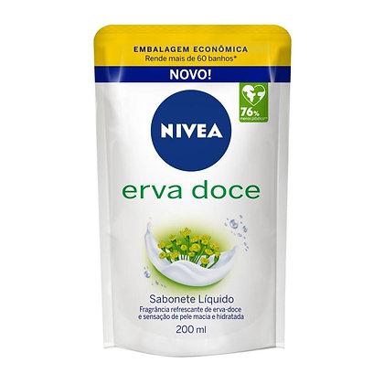 Sabonete Líquido Refil - Erva Doce - Nivea - 200ml