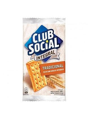 Biscoito Integral Tradicional - Club Social - 144g