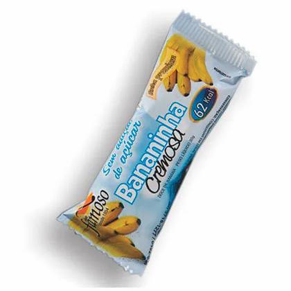 Bananinha Cremosa - Sem Adição de Açúcar - 30g