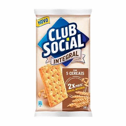 Biscoito Integral 5 Cereais - 144g