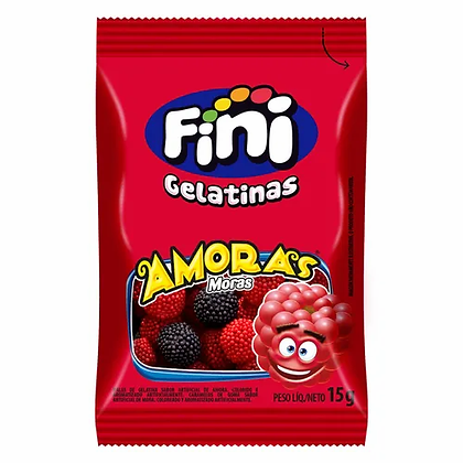 Gelatinas Amoras - Fini - 15g