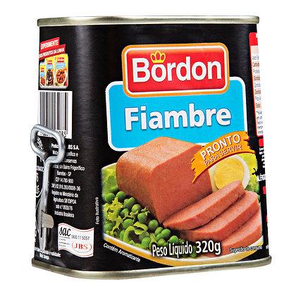 Fiambre - Bordon - 320g