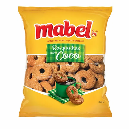 Rosquinhas - Coco - Mabel - 350g