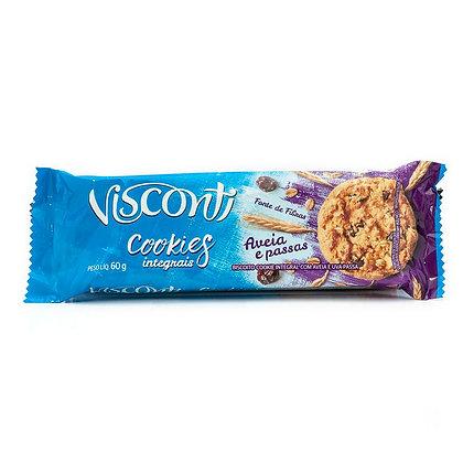 Cookies - Aveia e Passas - Visconti - 60g