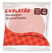 Hambúrguer de Carne Bovina - Chuletão - 56g