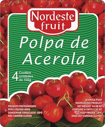 Polpa de Acerola - Nordeste Fruit - 400g