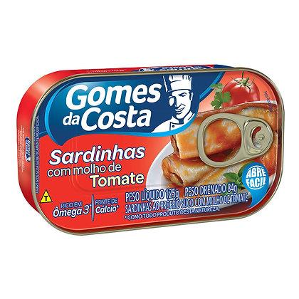 Sardinhas com Molho de Tomate - Gomes da Costa - 125g