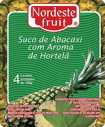 Polpa de Abacaxi com Hortelã - Nordeste Fruit - 400g