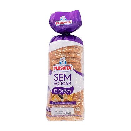 Pão de Forma - Sem açúcar - Plusvita - 350g