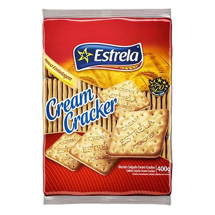 Biscoito Cream Cracker - Estrela - 400g
