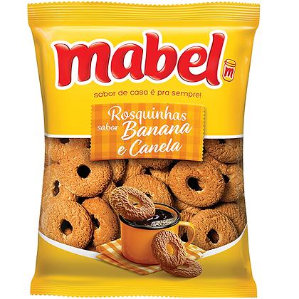 Rosquinhas - Banana e Canela - Mabel - 350g