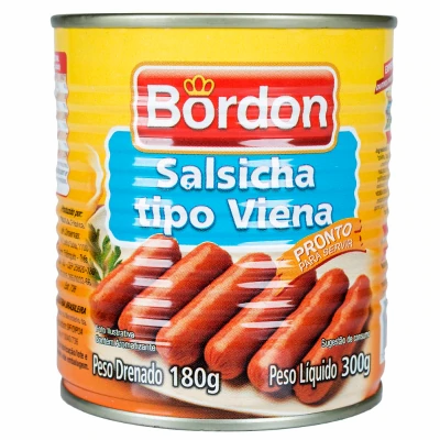 Salsicha - Bordon - 300g
