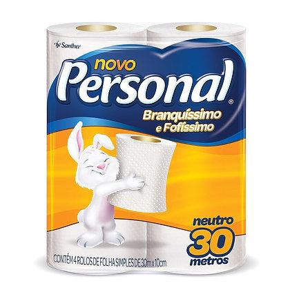 Papel higiênico - Personal - 4 rolos