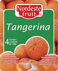 Polpa de Tangerina - Nordeste Fruit - 400g