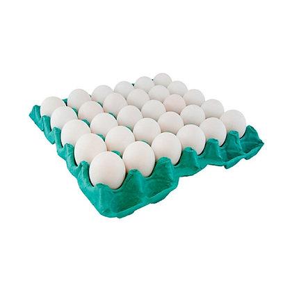 Ovos Brancos Tipo A - Bandeja c/ 30 Unidades