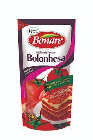 Molho de Tomate Bolonhesa - Bonare - 340g