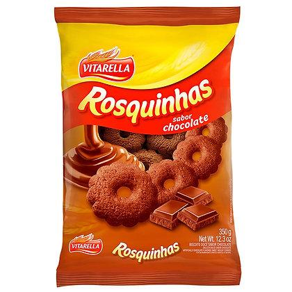Rosquinhas de Chocolate - Vitarella - 350g