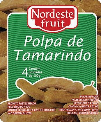 Polpa de Tamarindo - Nordeste Fruit - 400g