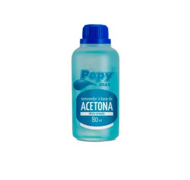 Acetona - Popy max - 80ml