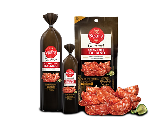 Salame Italiano Gourmet - Seara - 100g