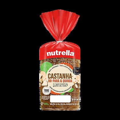 Pão de Forma - Castanha-do-Pará & Quinoa - Nutrella - 550g